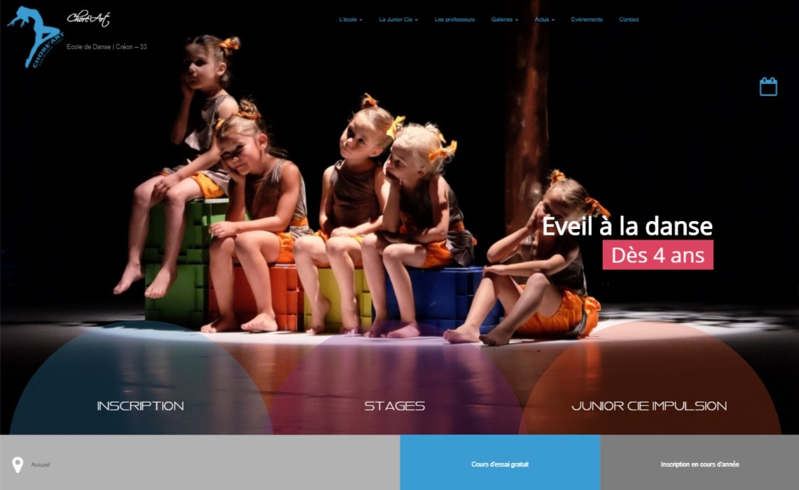 Ecole de danse Choré'Art | Créon (33)