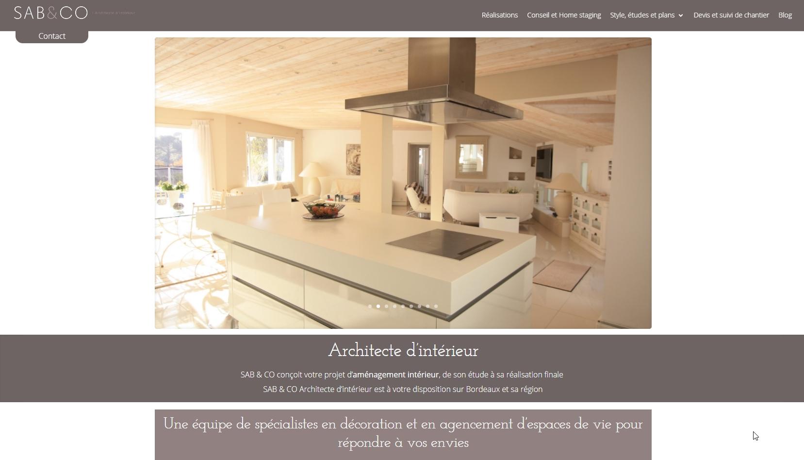 Sab&Co - Architecte d'Intérieur